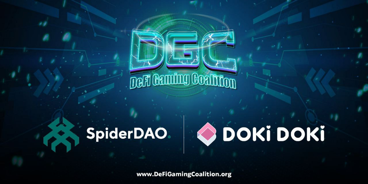 Doki Doki Joins The DeFi Gaming Coalition For a Better More Connected Gaming and NFT Ecosystem