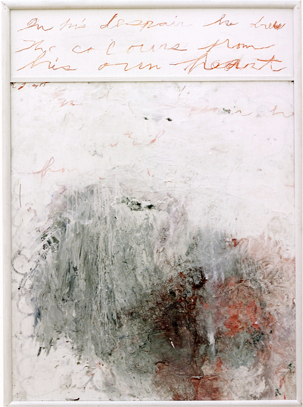 cy twombly  against interpretation