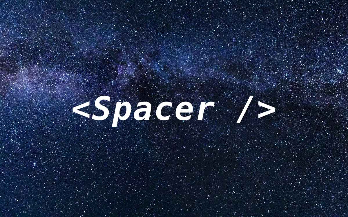Stop using margin, use Spacer component instead!