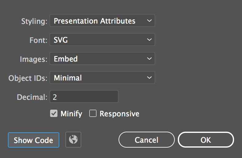 How To Export SVGs For The Web From Illustrator - Colin Lord - Medium