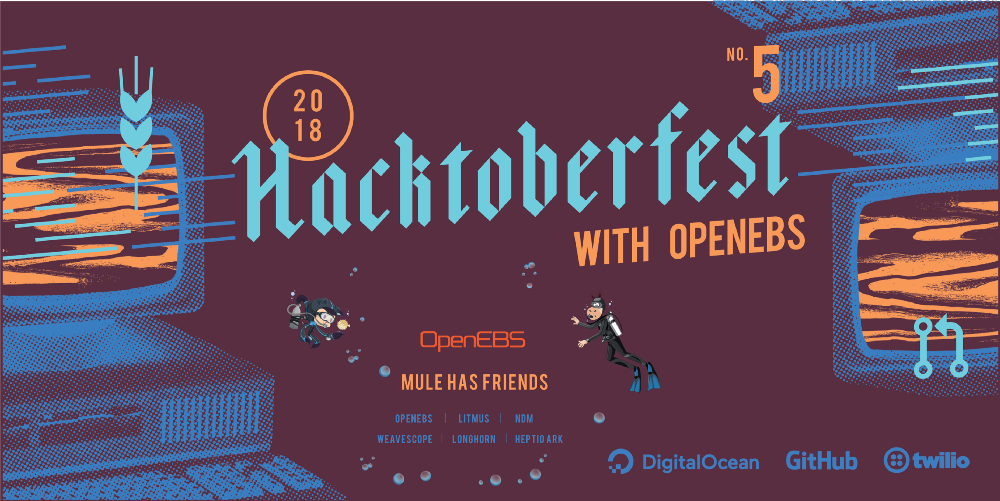 Experience with OpenEBS in this Hacktoberfest - OpenEBS
