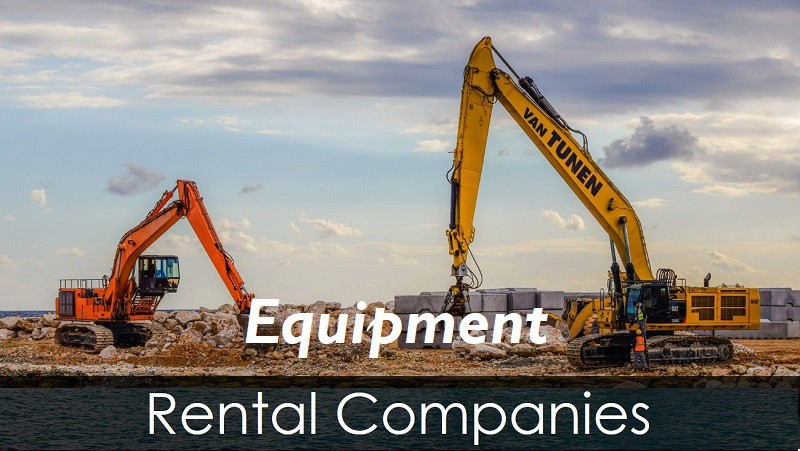 These are the top 5 heavy equipment rental companies in
