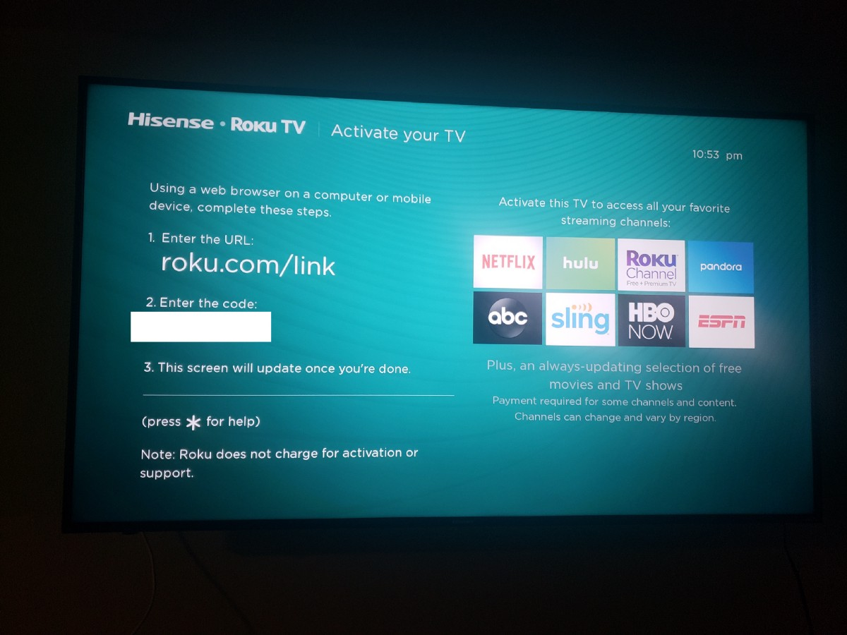 Roku is cryptolocking TV's until you give personal data