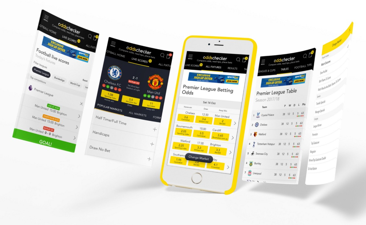 UX/UI Case Study: Designing A Better Sports Betting Experience