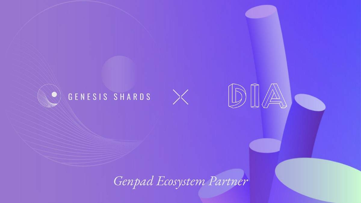 GenShards ties up with open-source oracle platform DIA for transparent, reliable data feeds