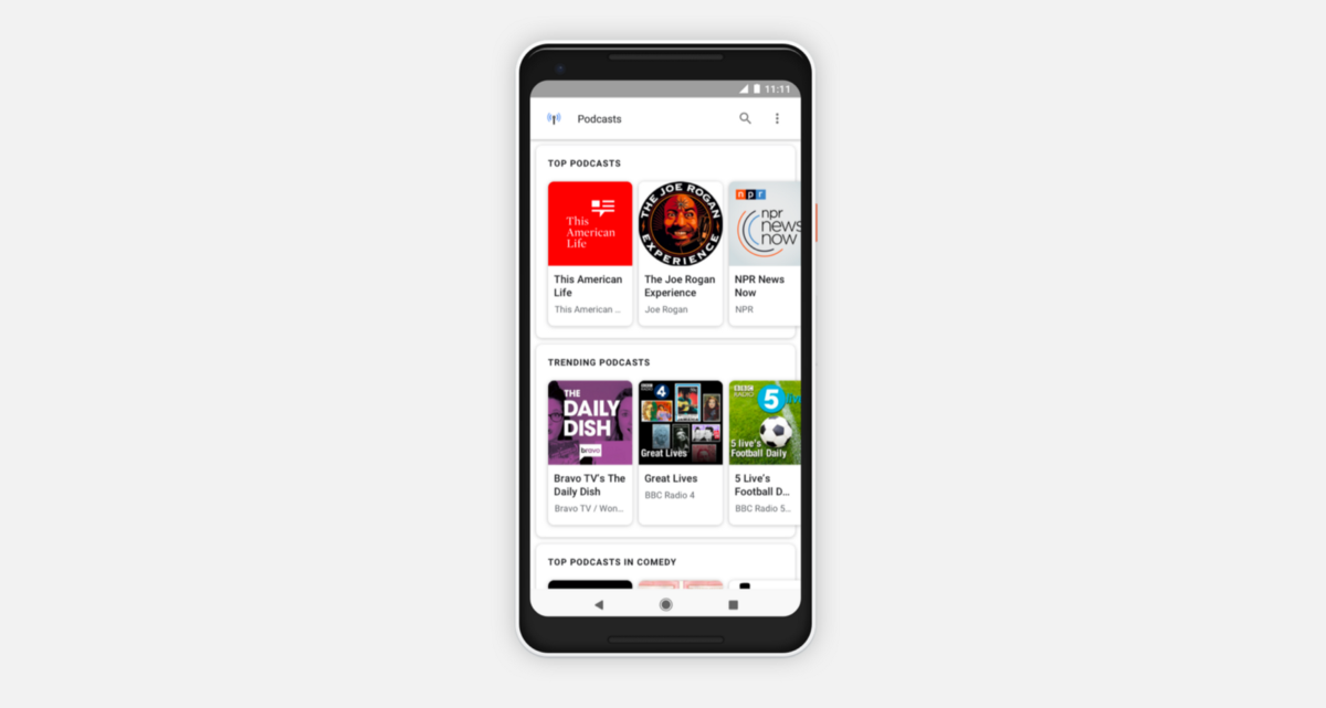 Google's New Way to Find Your Next Favorite Podcast
