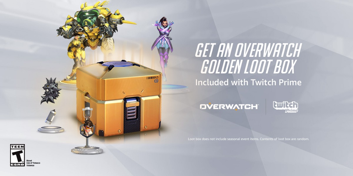 Overwatch fans, get on the point and get a Legendary item