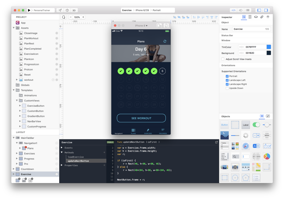 Create a Professional iOS App in Hours with Creo