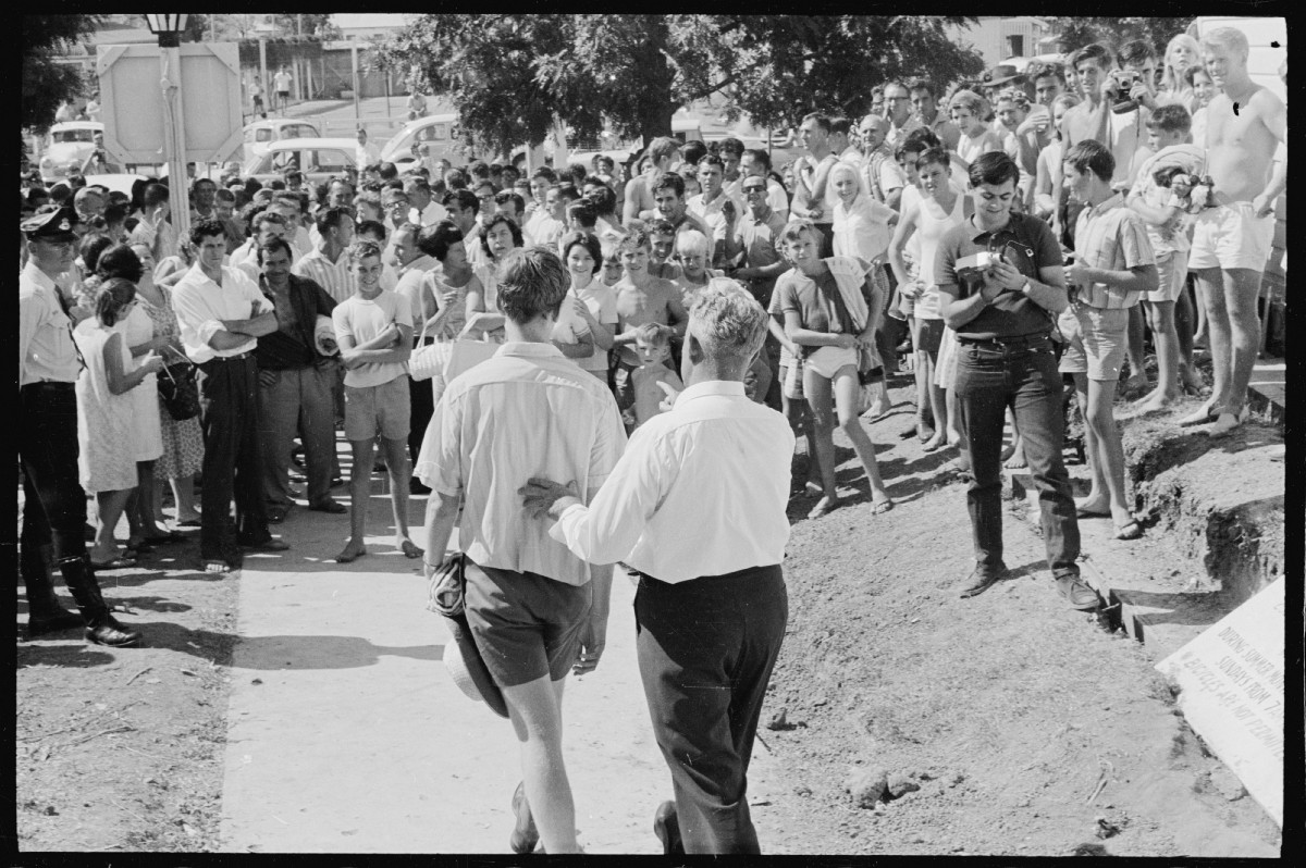 These photos show how the American Civil Rights Movement influenced Aboriginal rights activists