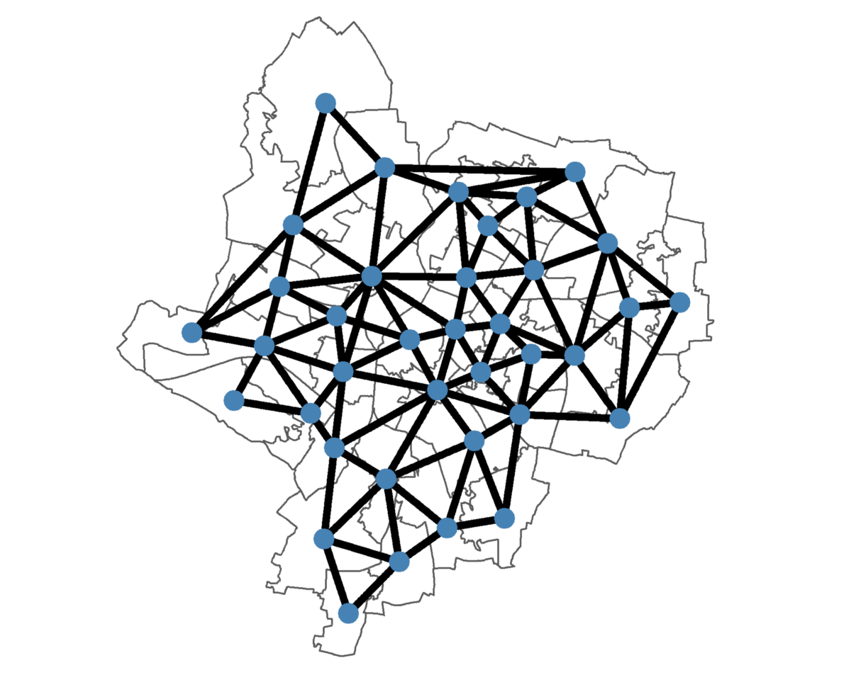 Predicting the spread of Covid-19 using networks in R