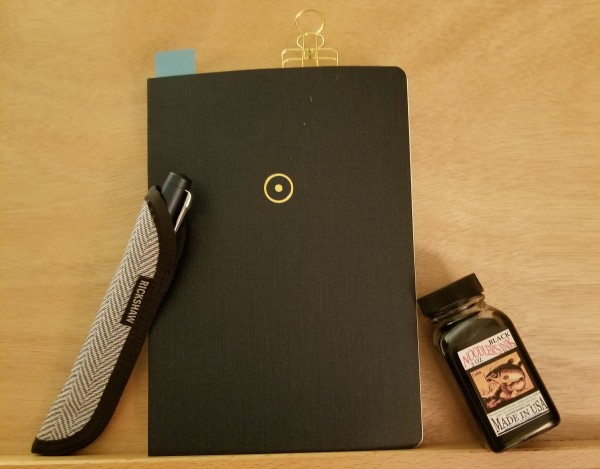 Seven Seas Notebook with Fountain Pen and Noodler's Black Ink