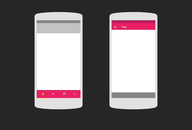 3 Creative Concepts of Mobile Tab Bar Navigation - UX Planet