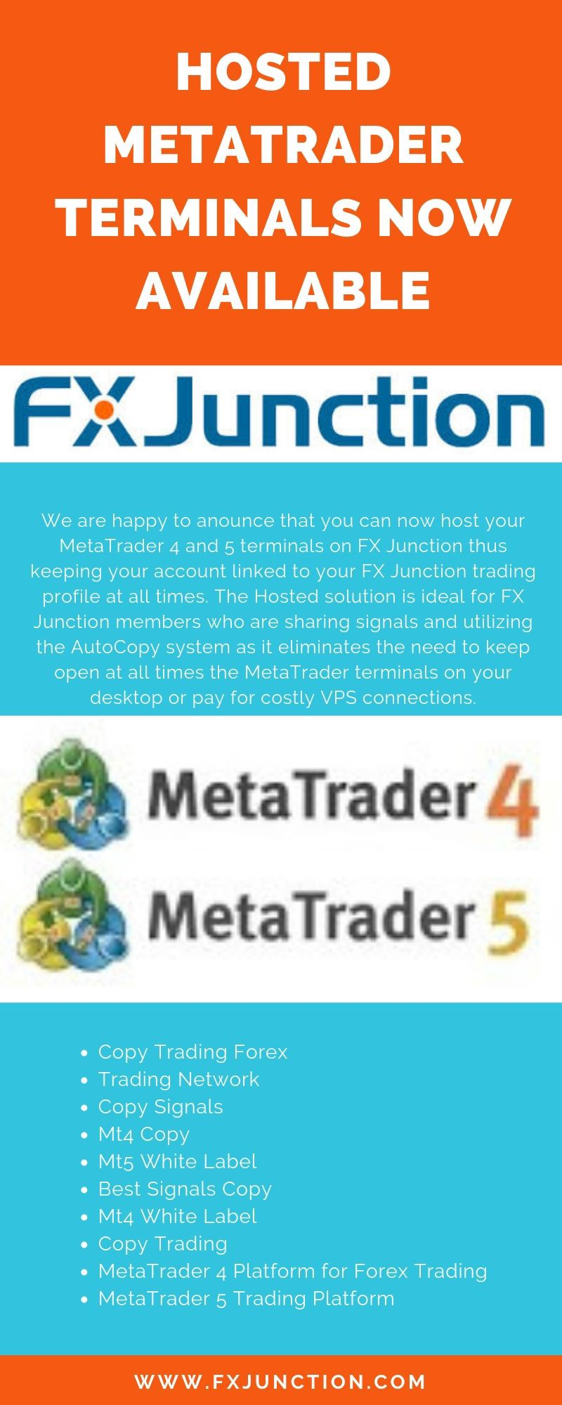 Hosted MetaTrader Terminals Now Available - Fx Junction - Medium