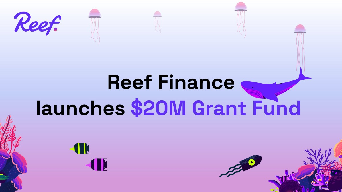 Reef Finance launches $20M Grant Fund to Expand Reef Chain Development