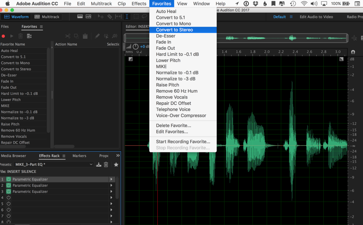 111: Quick Tip: How to Record a Favorite Podcast Preset in