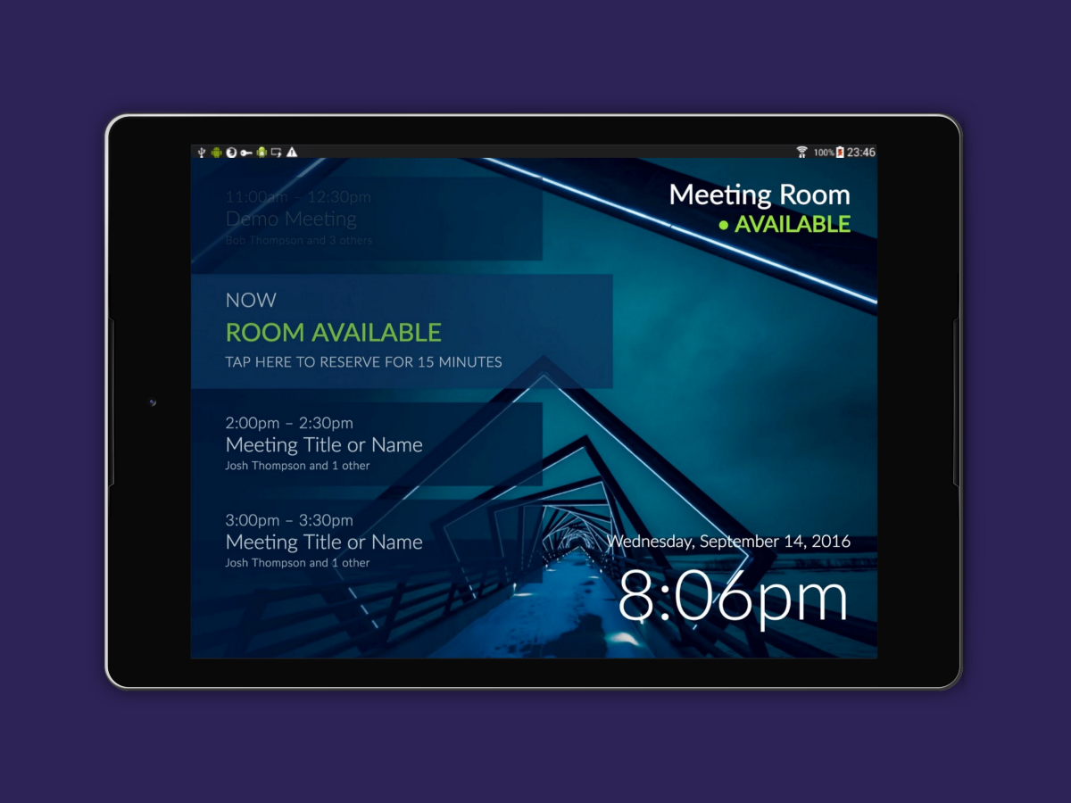 How to Add a Meeting Room Display to Office 365 [Android