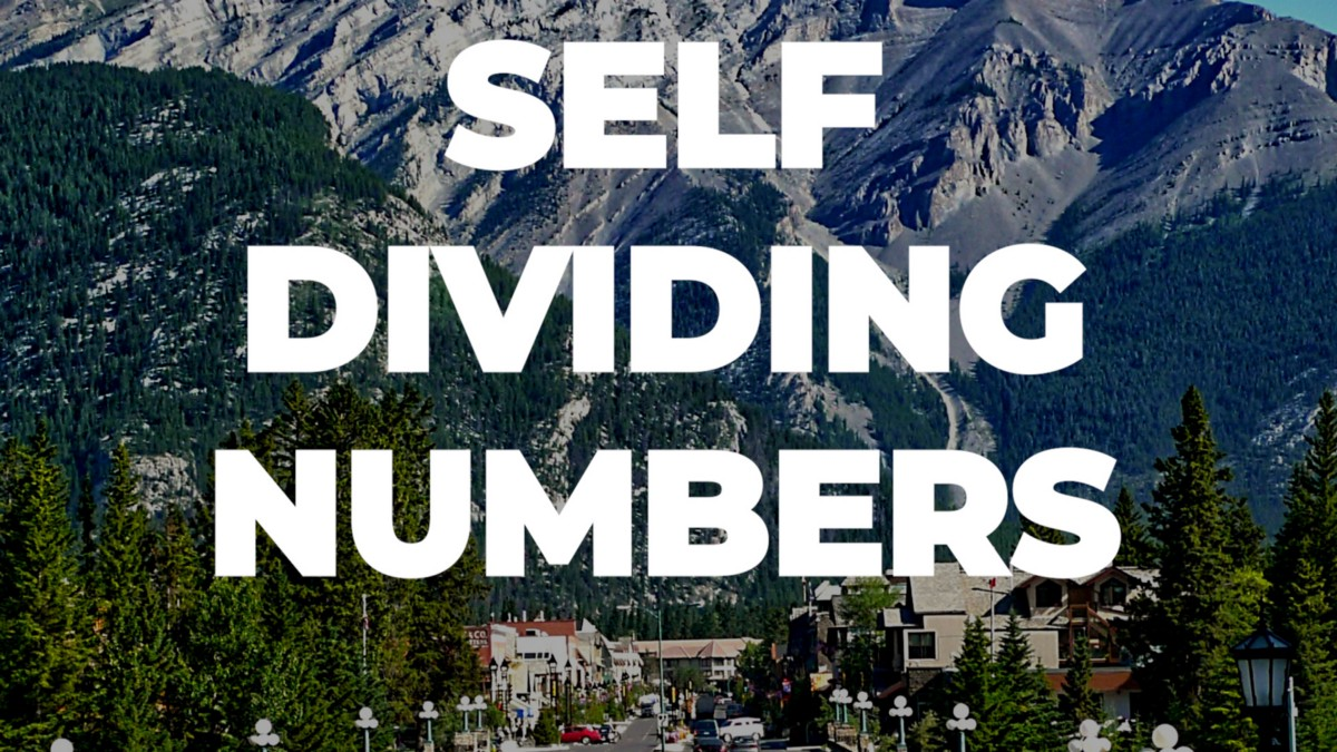 How to solve Self Dividing Numbers?
