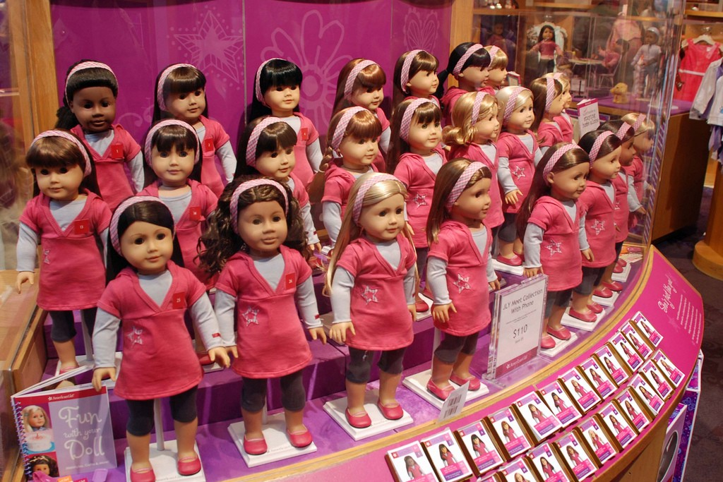 My Kid Had The Rattiest Hair At The American Girl Store My Kid Had the Rattiest Hair at the American Girl Store Hair Style Girl american girl doll hair salon styling kit