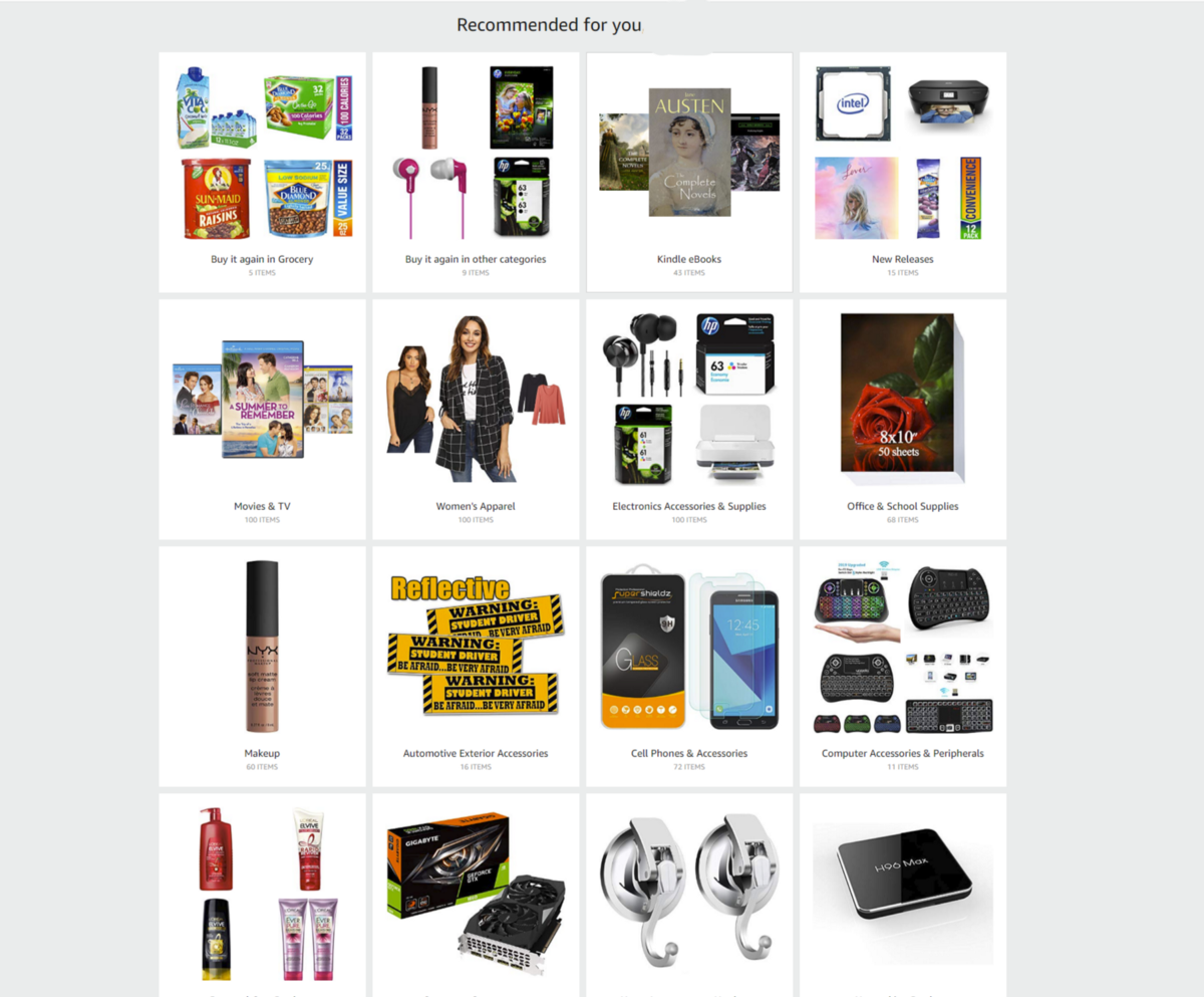Product Recommender using Amazon Review dataset - Towards