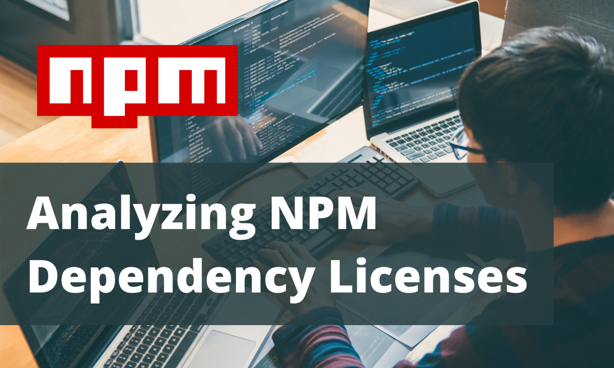 How I Analyzed All NPM Dependency Licenses in One Go