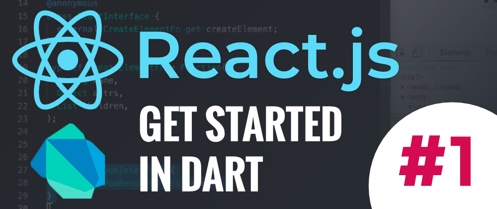 React.js–Get started in Dart #1