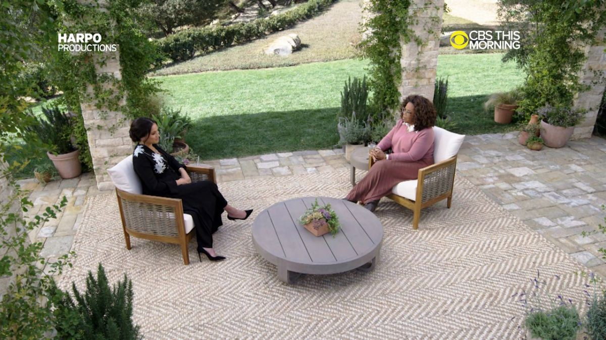 The 5 Wildest Details From Meghan and Harry's Oprah Interview, Ranked