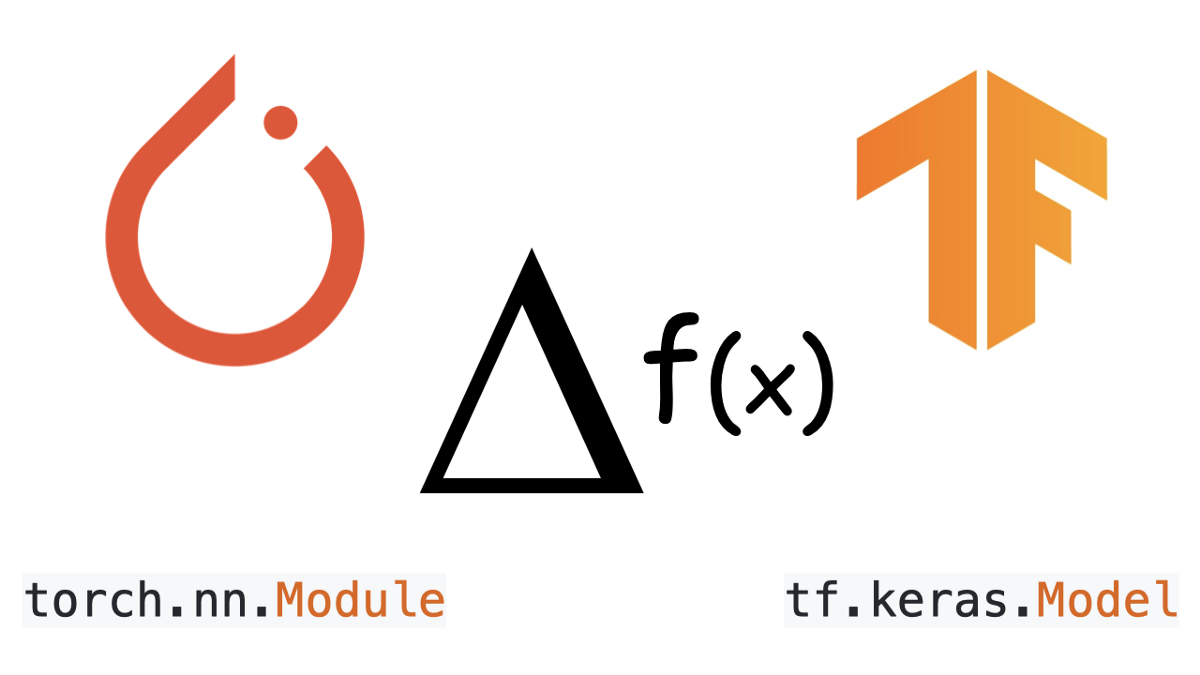 AutoDiff and Dynamic Subclassed Models with PyTorch Vs TensorFlow