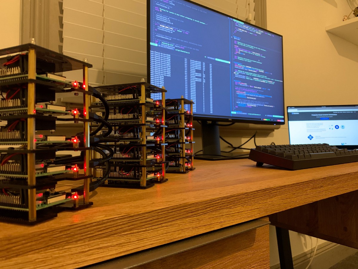 Headless Kubernetes on 15 Raspberry Pis boot in under 8 minutes