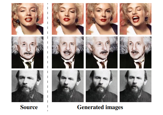 Generating Talking Models of Unseen Faces