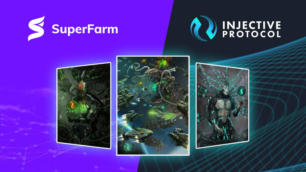 SuperFarm x Injective Protocol: Announcing the Injective NFT Drop and Partner Farm