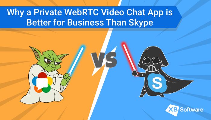 Why a Private WebRTC Video Chat App is Better for Business