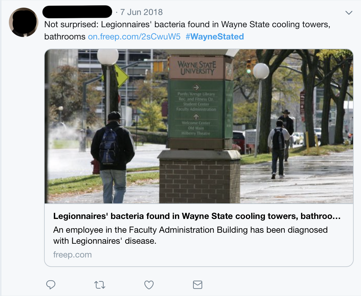 Wayne State students wary of being #waynestated - The Detroit