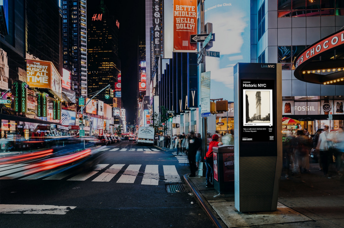Bringing History to LinkNYC Kiosks – Urban Archive – Medium