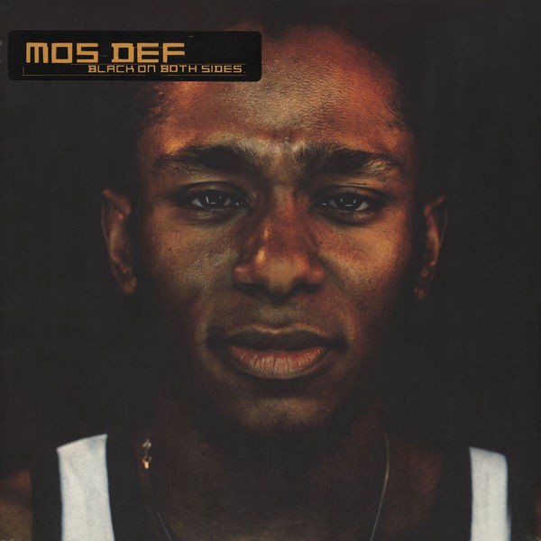 Cover of Black on Both Sides, the solo debut album of Yasiin Bey f.k.a. Mos Def. Photo by Alvaro Gonzalez-Campo.