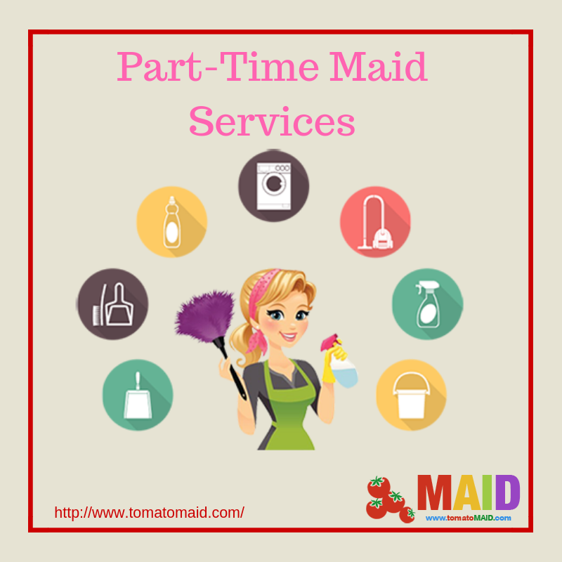 Part time Maids In Abu Dhabi - Tomato Maid - Medium