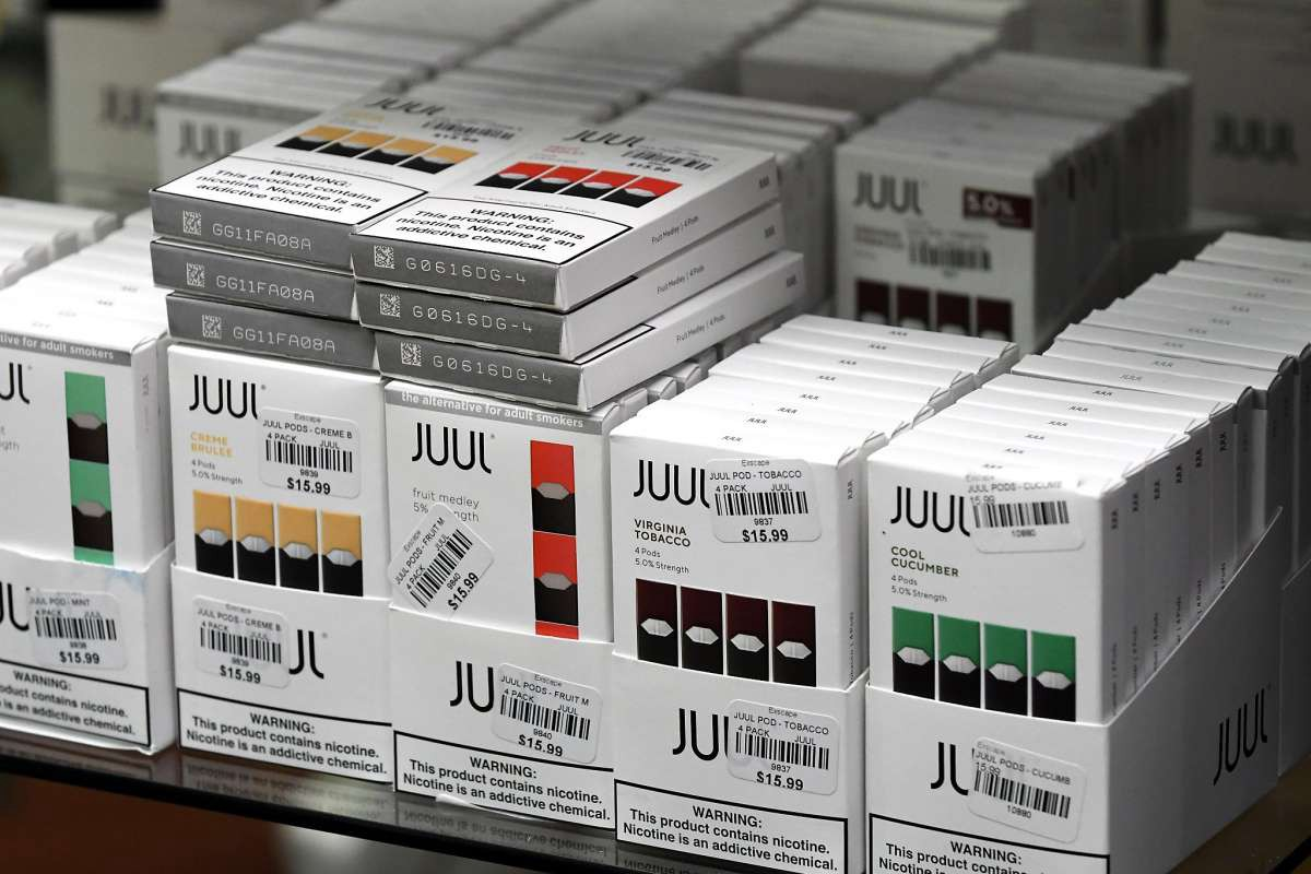 Goodbye to your favorite flavors of JUUL vape pods