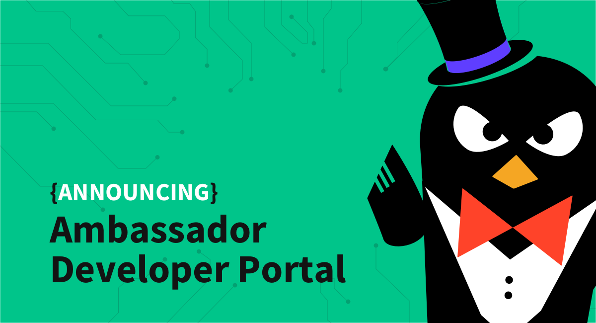 Announcing the Ambassador Developer Portal with Swagger and OpenAPI support
