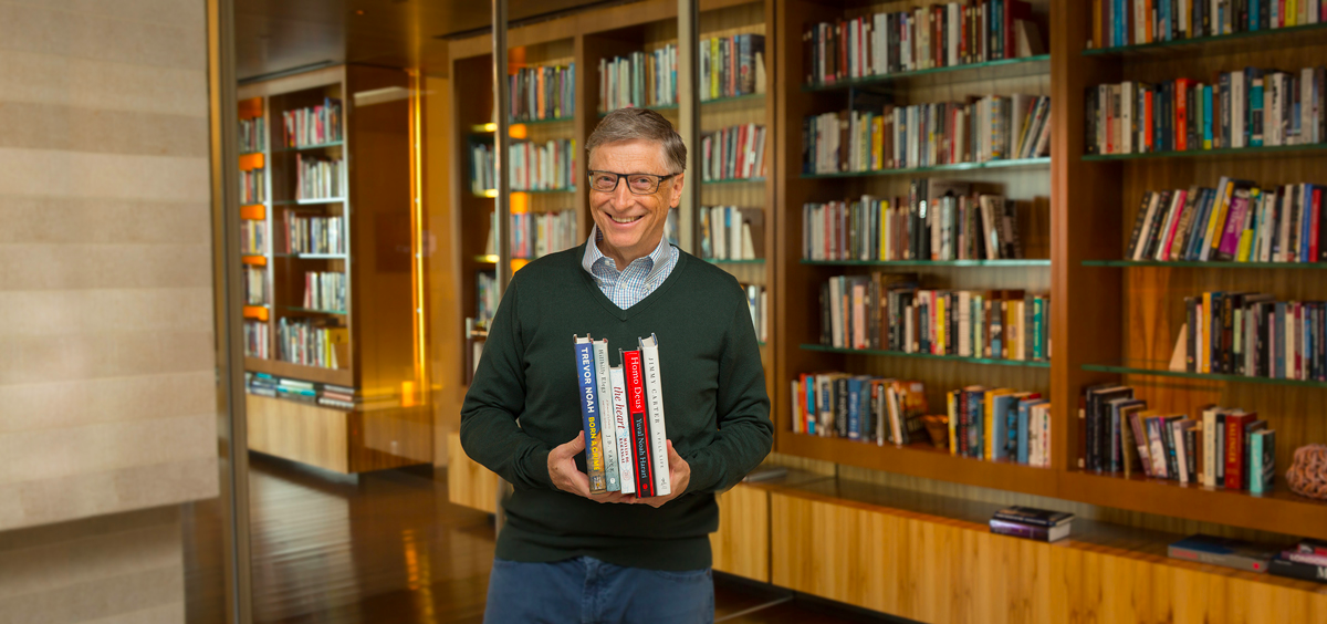 5 Books Bill Gates Thinks You Should Read This Year
