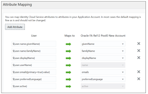 Setting up users and roles synchronization between Fusion Apps and