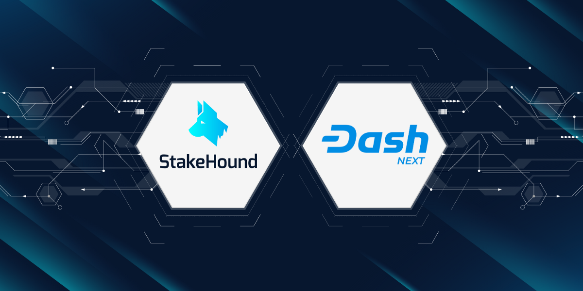 StakeHound partners with DASH enabling Ethereum DeFi users to earn rewards with StakedDASH