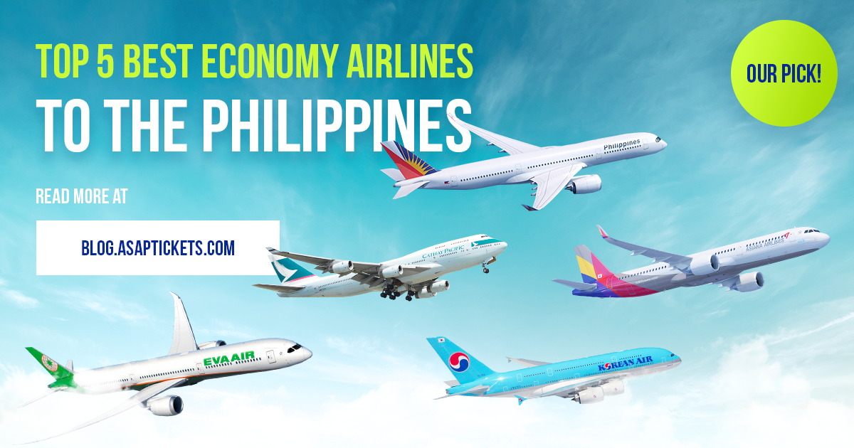 Top 5 Best Economy Airlines to the Philippines: Our Pick