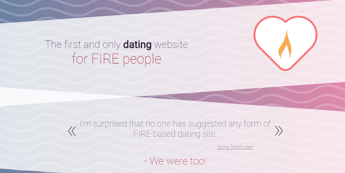 Fire dating dating business plan