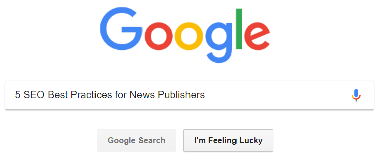 5 SEO Best Practices for News Publishers - Ned Berke - Medium