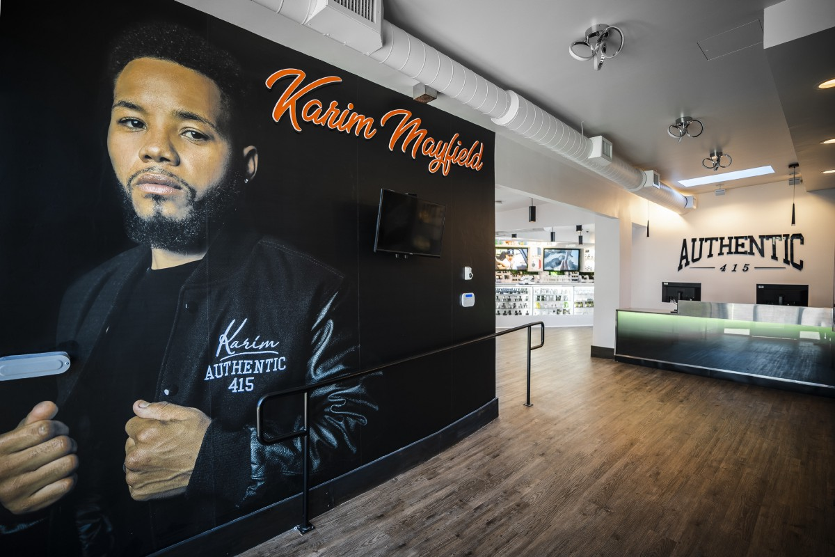 Pro-Boxer Karim Mayfield Opens San Francisco's Newest Dispensary