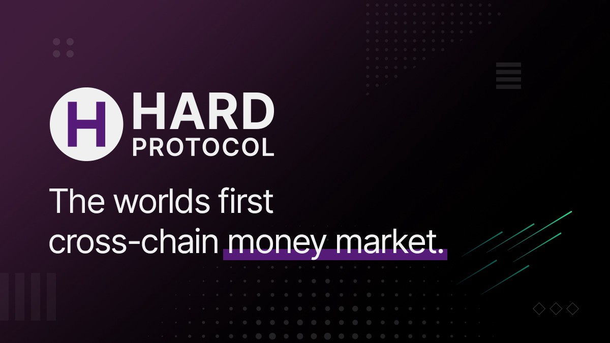Introducing the HARD protocol, the world's first cross-chain money market.