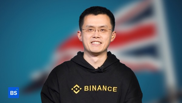 A photo of the CEO of Binance, Changpeng Zhao