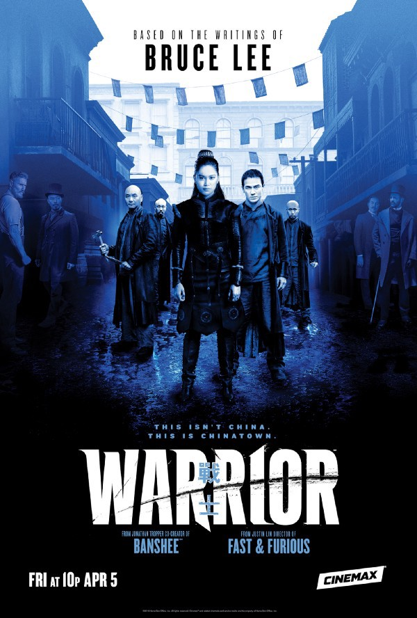 Tong Wars Drama Series WARRIOR, Based on the Writings of