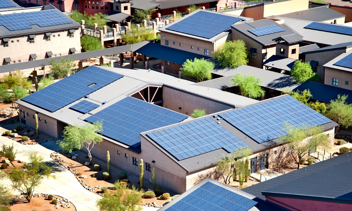 Let's require solar panels on new buildings in California