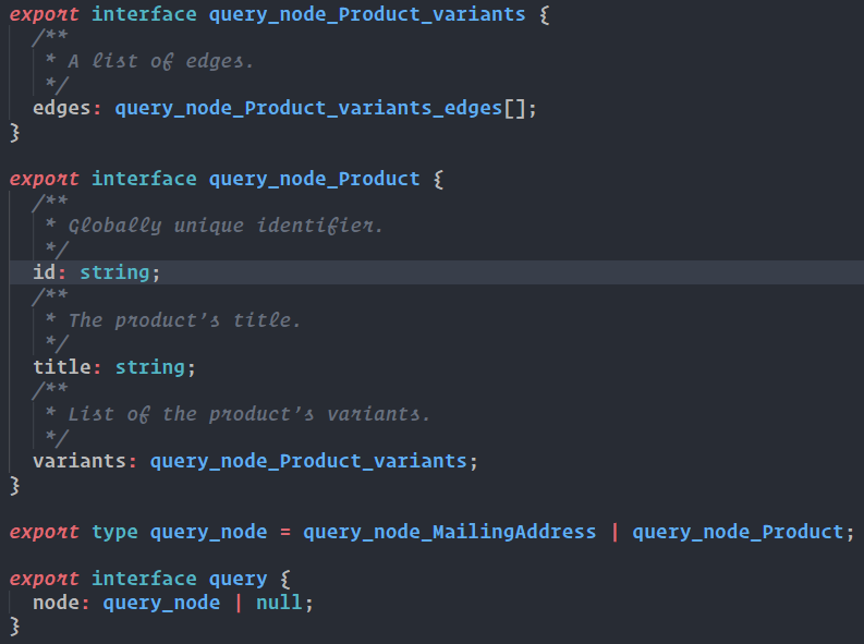 Shopify's GraphQL API and How to Generate Schema Types for