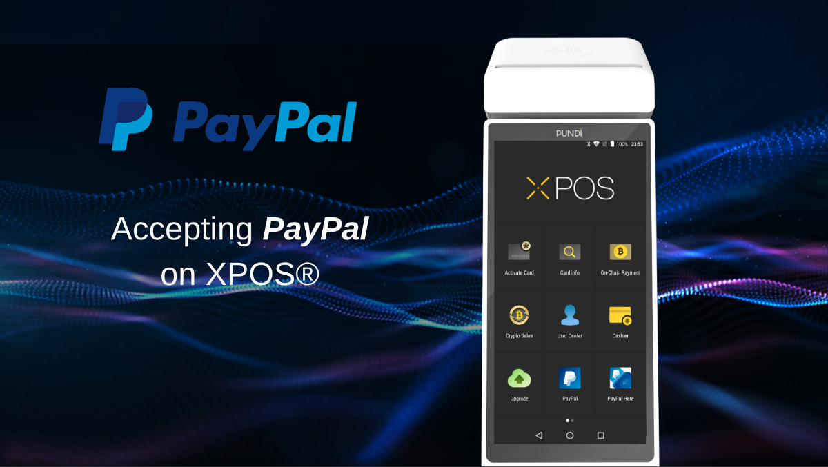 XPOS® devices soon to support online payment giant PayPal